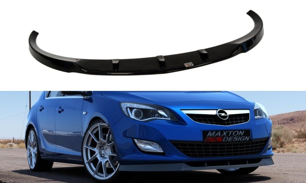 Splitter Przedni Opel Astra J Przedlift - GRUBYGARAGE - Sklep Tuningowy